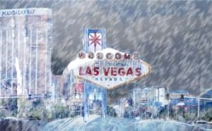 Wishing for Snow - snow in vegas